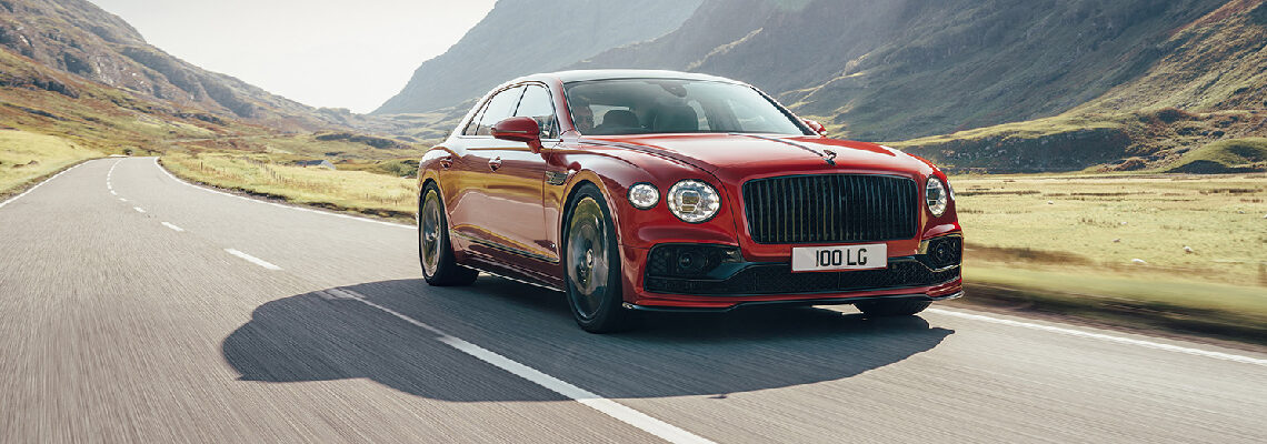 Bentley's Flying Spur V8 Ready To Soar